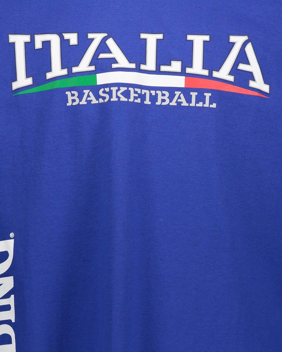 Abbigliamento basket SPALDING ITALIA WC19 M S5173365 scatto 2