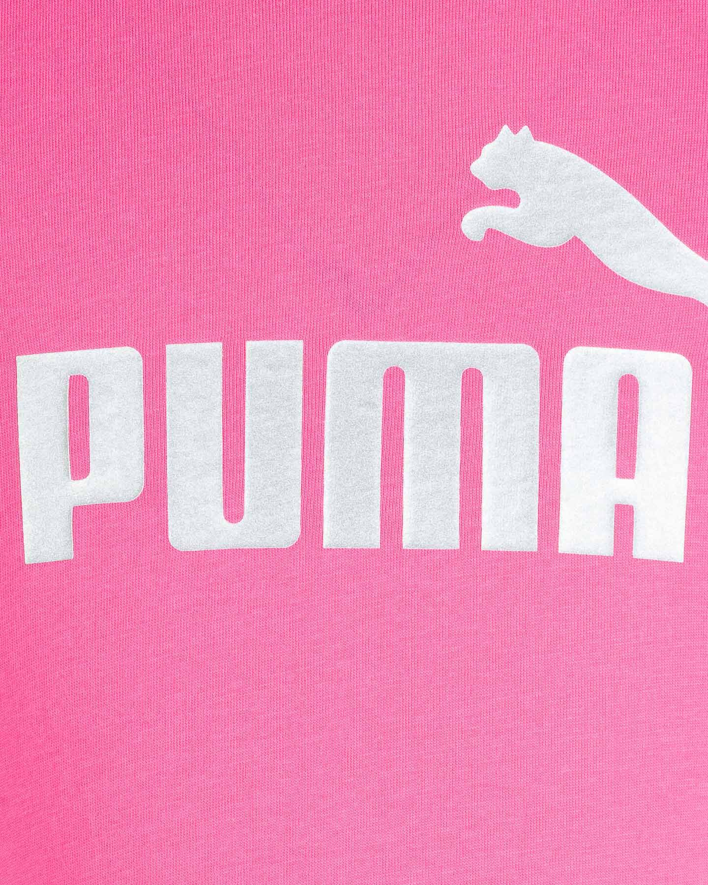 T-Shirt PUMA MC BIG LOGO JR S5234894 scatto 2