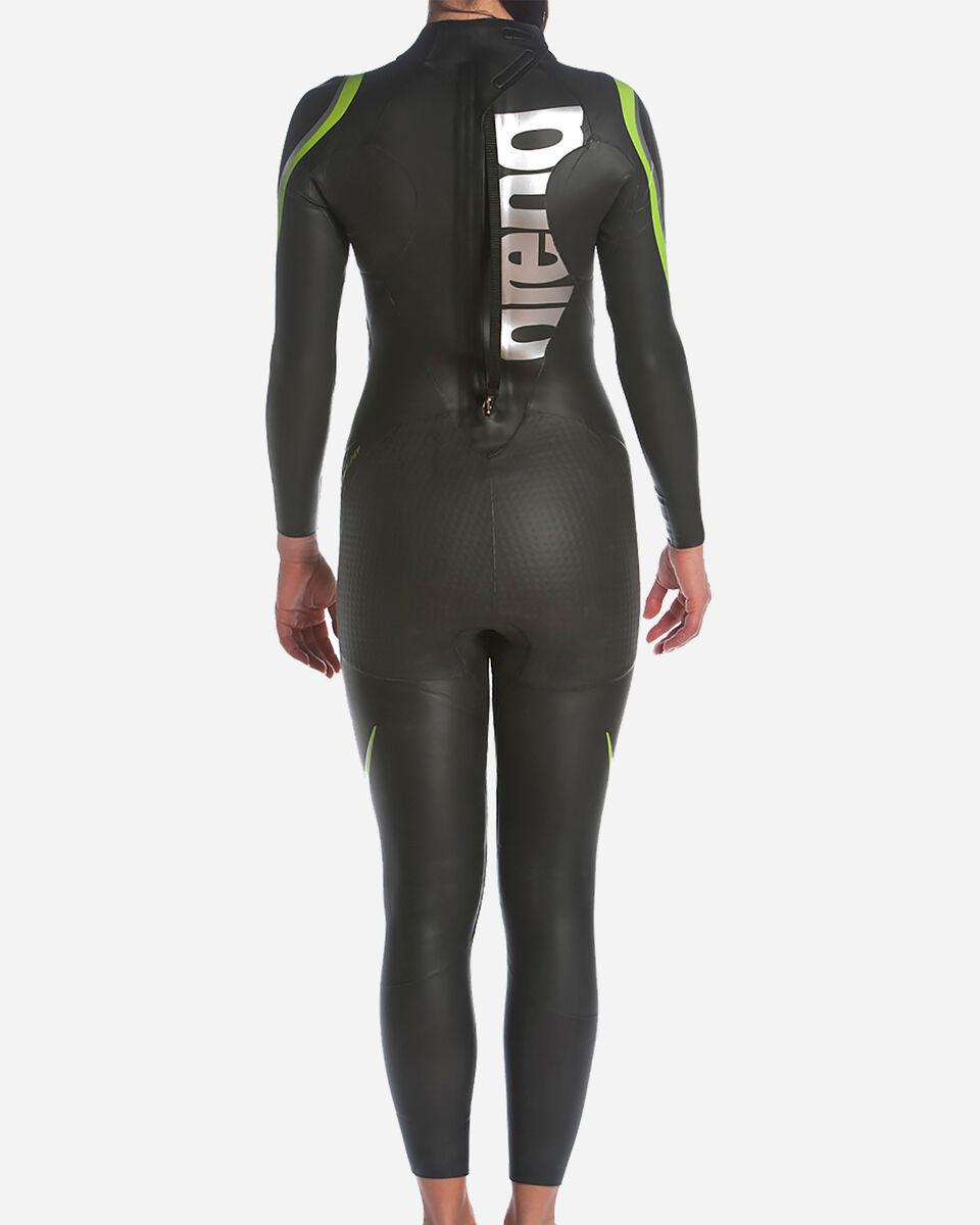 Costume piscina ARENA TRIWETSUIT CARBON W S5042136 scatto 4