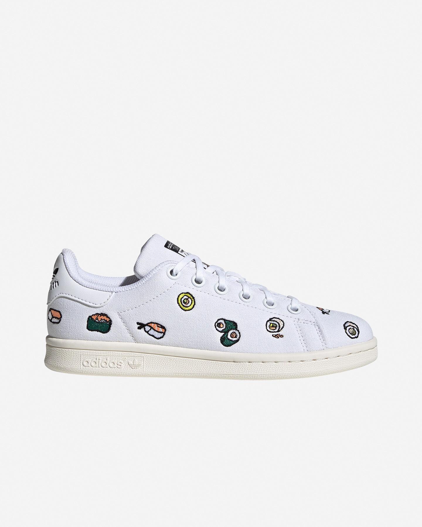 Scarpe sneakers ADIDAS STAN SMITH JR S5151501 scatto 0
