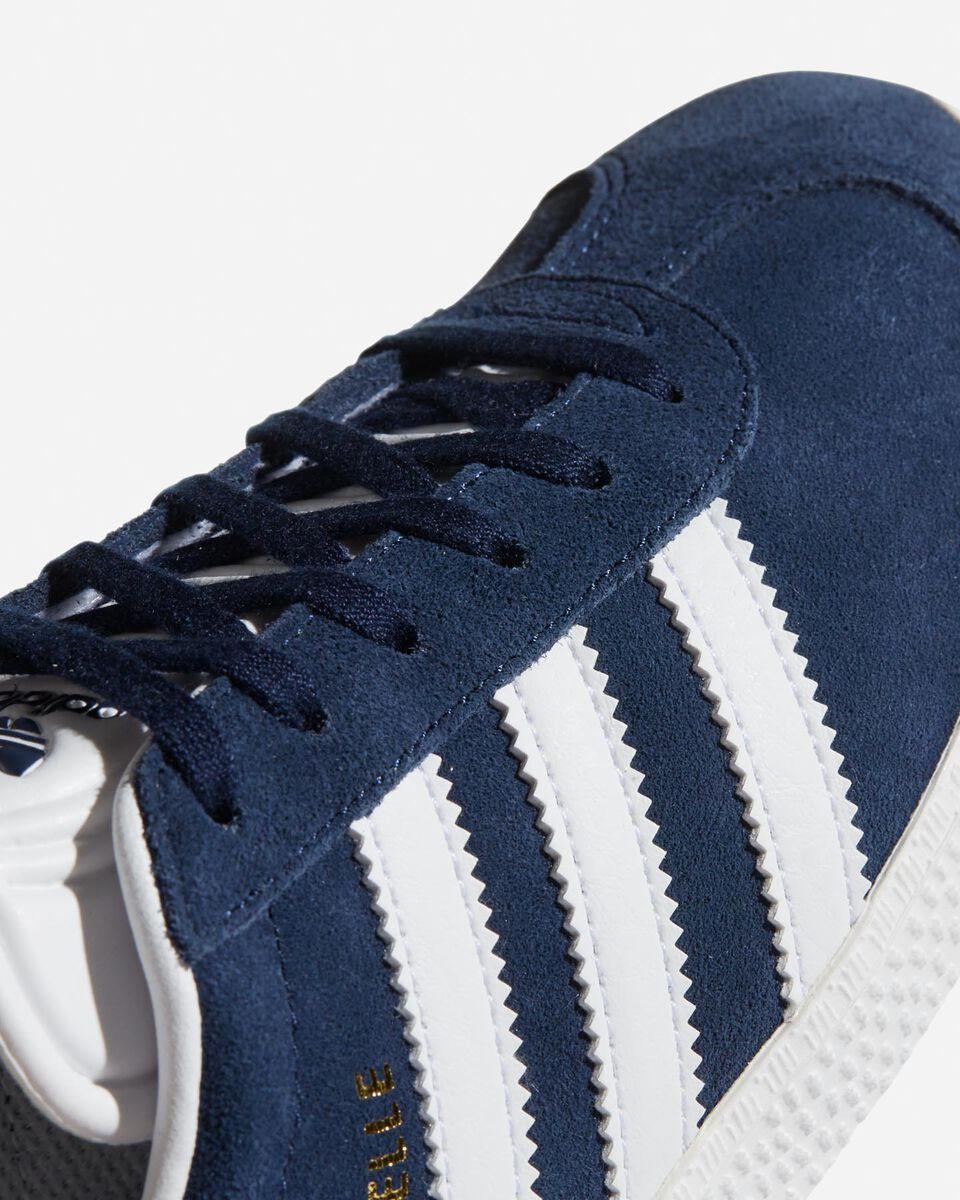 Scarpe sneakers ADIDAS GAZELLE JR GS S4046770|CONAVY/FTW|3 scatto 3