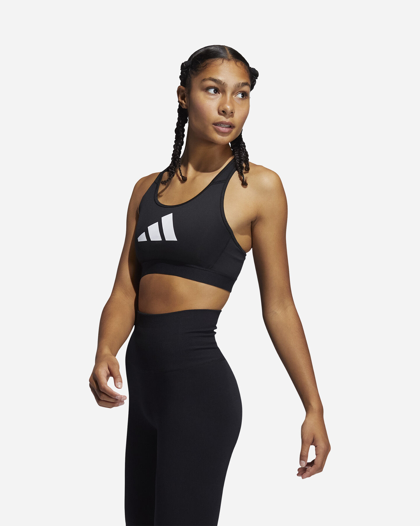 Bra training ADIDAS DONT REST 3 BARS W S5274629 scatto 1