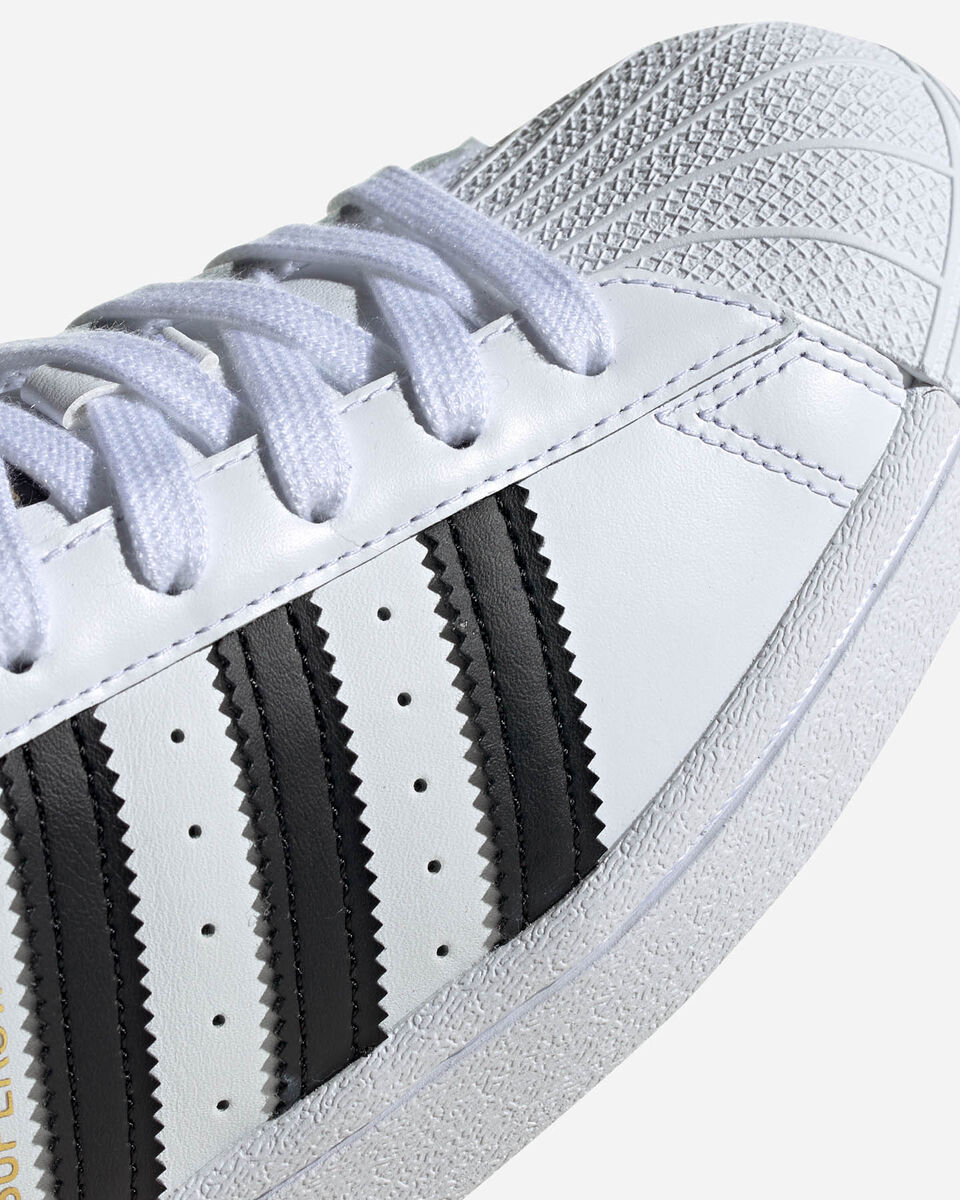 Scarpe sneakers ADIDAS SUPERSTAR GS JR S5150335 scatto 4