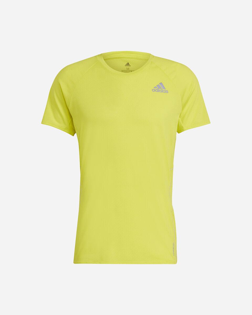 T-Shirt running ADIDAS RUNNER M S5273910 scatto 0