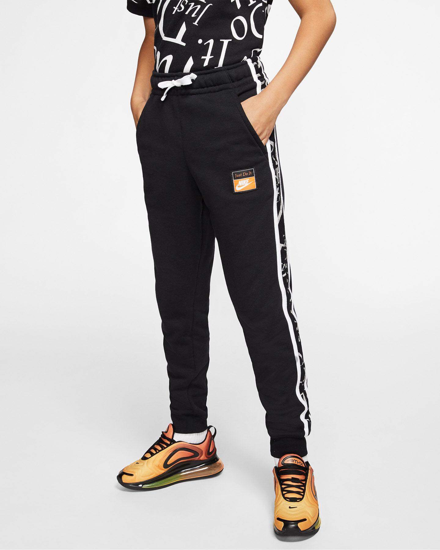 Pantalone NIKE LETTER JR S5164571 scatto 2
