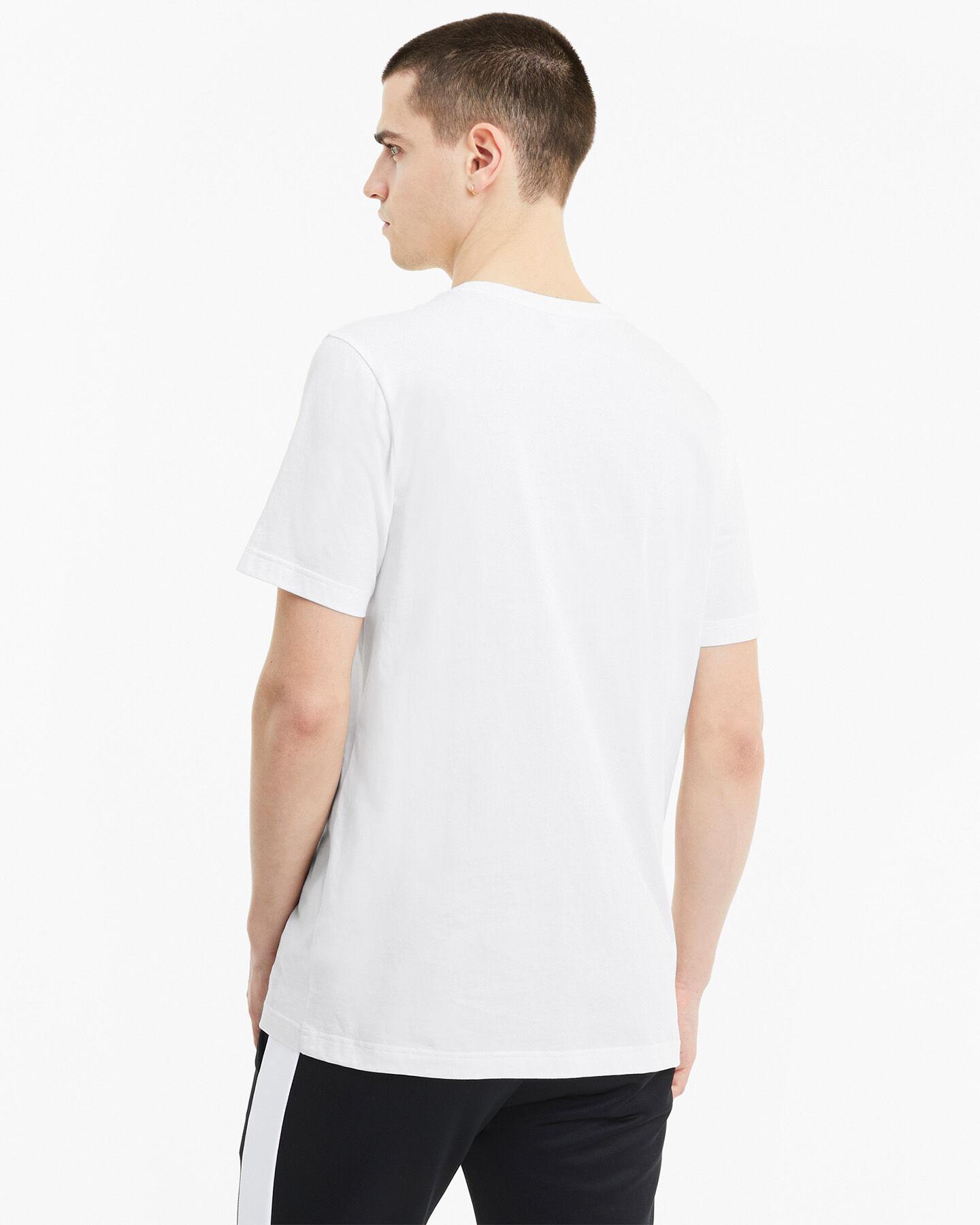 T-Shirt PUMA CLASSIC LOGO M S5235521 scatto 3