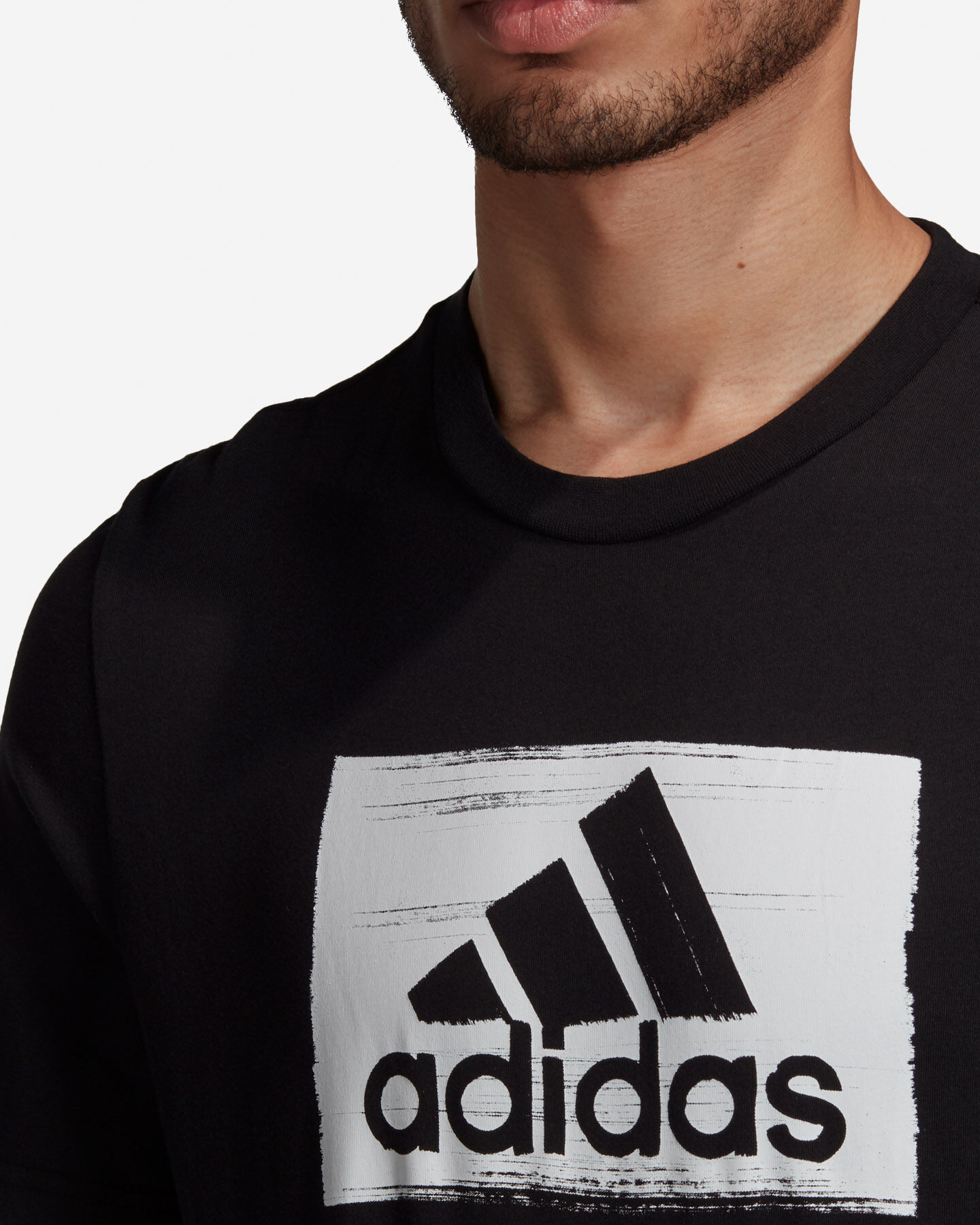 T-Shirt ADIDAS BRUSHSTROKE M S5211283 scatto 6
