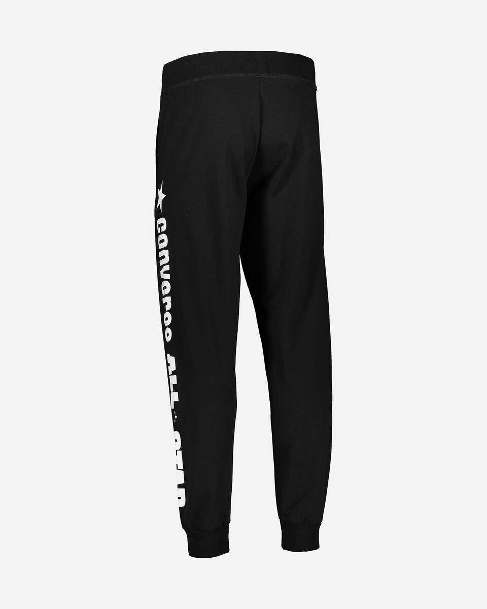 Pantalone CONVERSE LOGO M S5181033 scatto 2