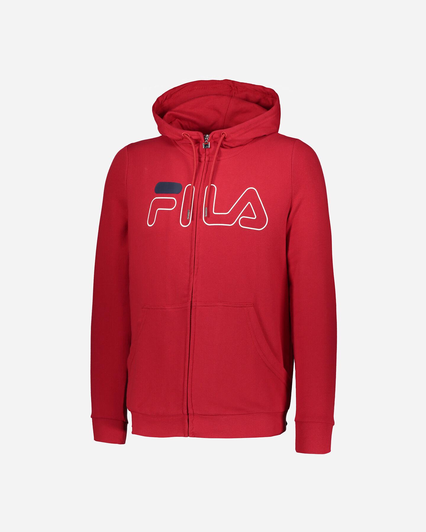 Felpa FILA ICONIC FNG ZP M S4034294 scatto 0