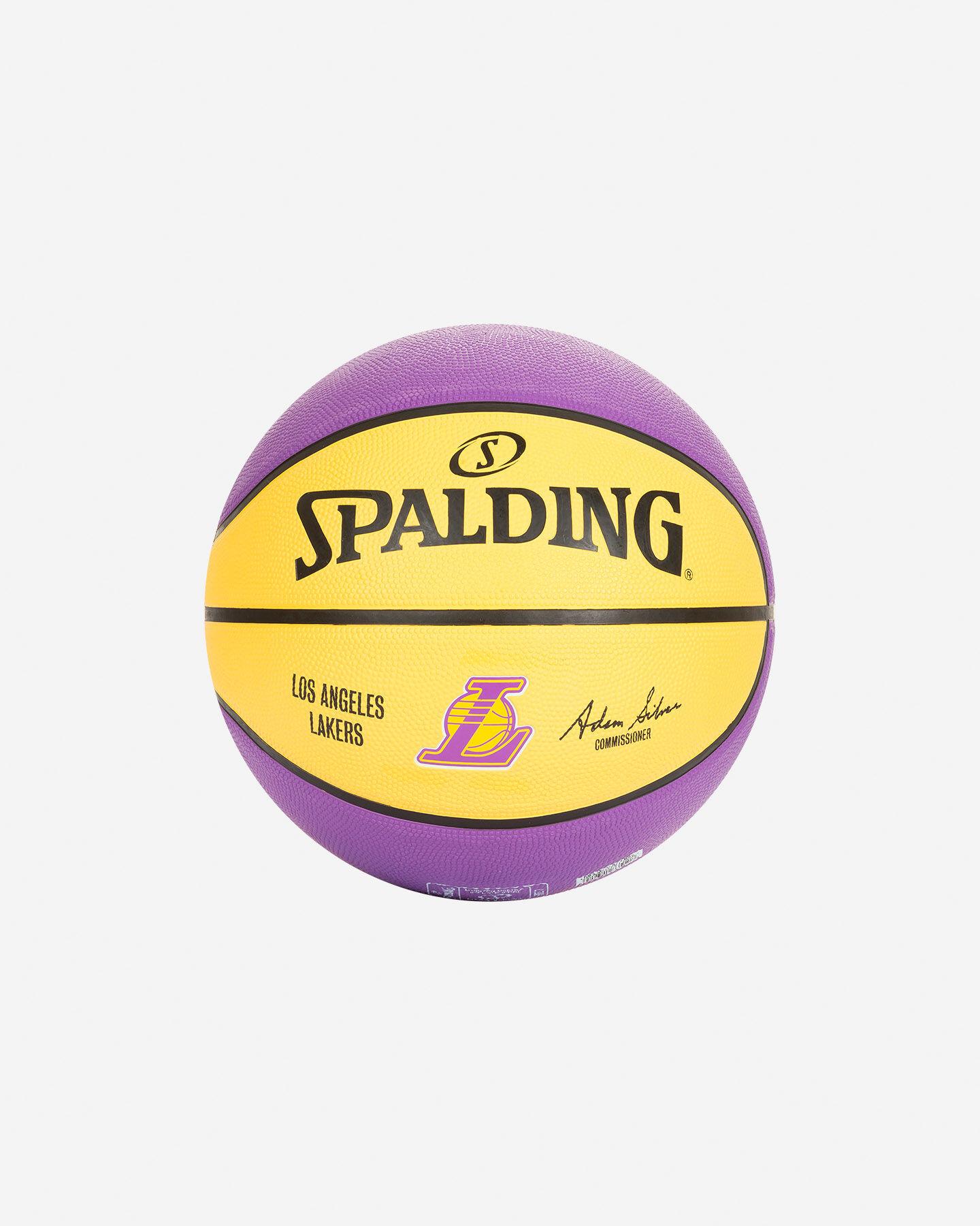 Pallone basket SPALDING LAKERS NBA TEAM SZ.7 S2006559|UNI|UNI scatto 1