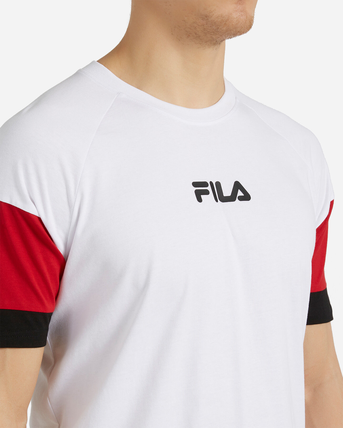 T-Shirt FILA NEW COLOR BLOCK M S4088467 scatto 4