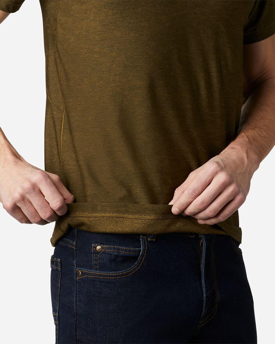 T-Shirt COLUMBIA MAXTRAIL LOGO M S5174874 scatto 5