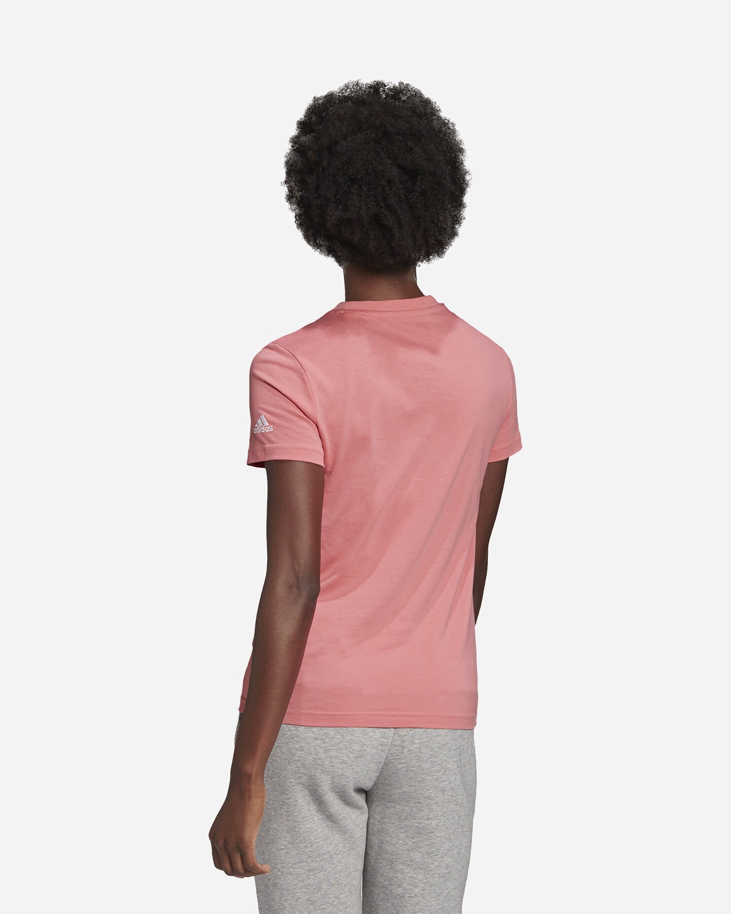 T-Shirt ADIDAS LINEAR W S5273057 scatto 2