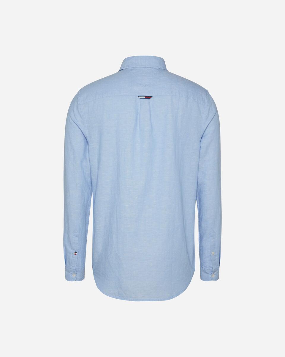 Camicia TOMMY HILFIGER LINEN M S4088738 scatto 1