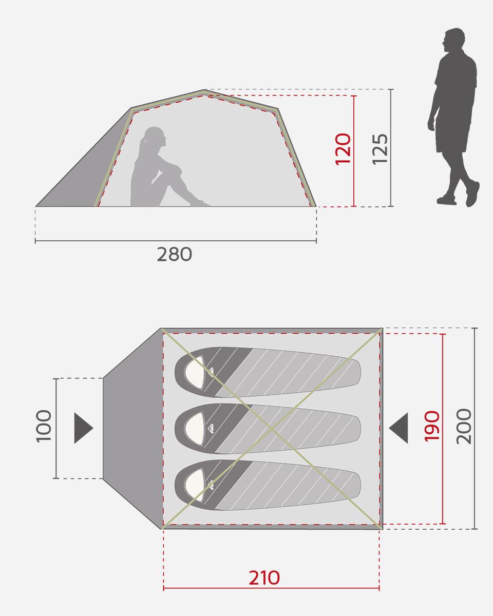 Tenda MCKINLEY VEGA 20.3 S2021938|900|- scatto 5