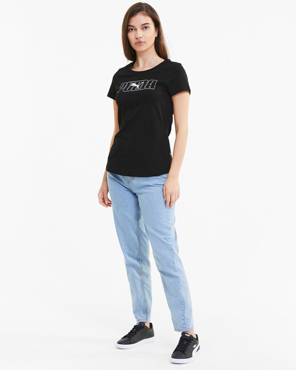 T-Shirt PUMA BIG LOGO W S5235257 scatto 4