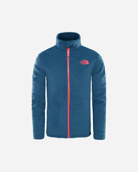 PILE E SOFTSHELL bambino_unisex THE NORTH FACE SNOWQUEST FULLZIP JR