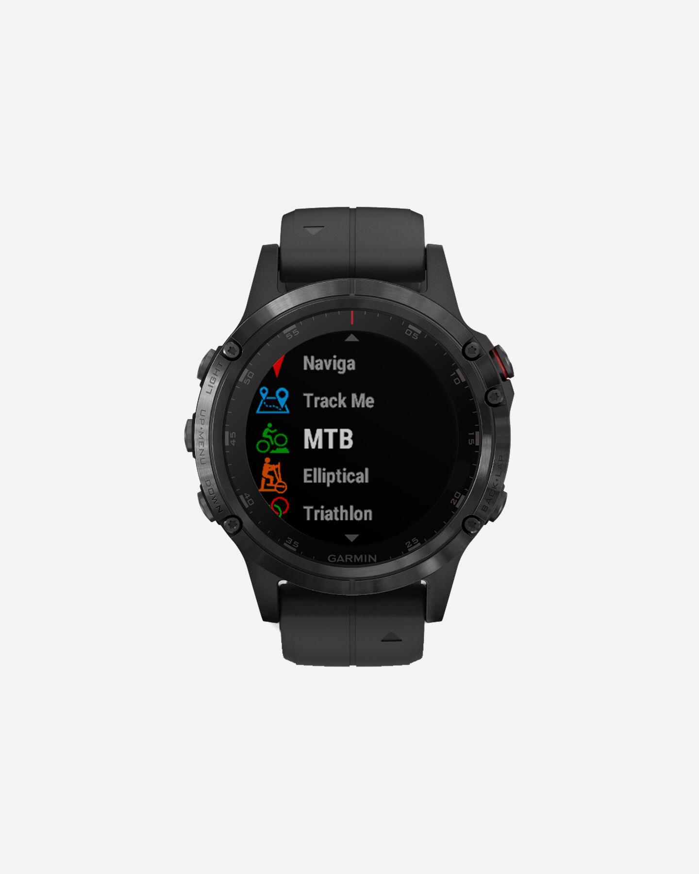 Orologio multifunzione GARMIN FENIX5 PLUS SAPPHIRE S4056931 01 UNI scatto 1