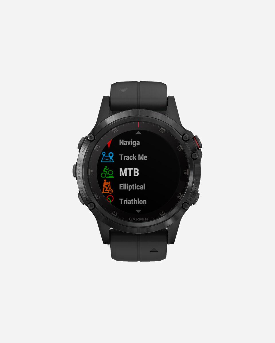 Orologio multifunzione GARMIN FENIX5 PLUS SAPPHIRE S4056931|01|UNI scatto 1
