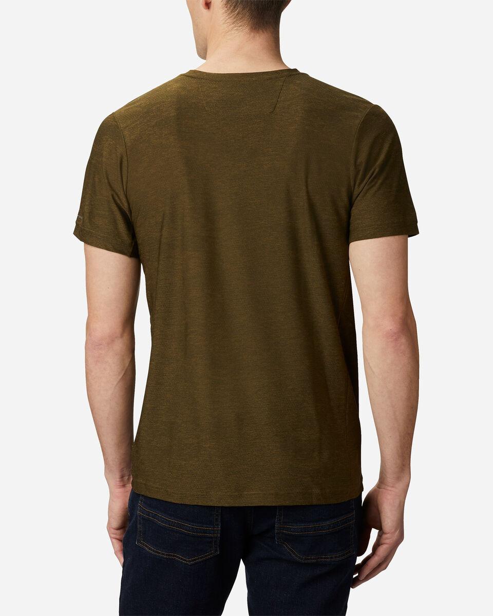 T-Shirt COLUMBIA MAXTRAIL LOGO M S5174874 scatto 3