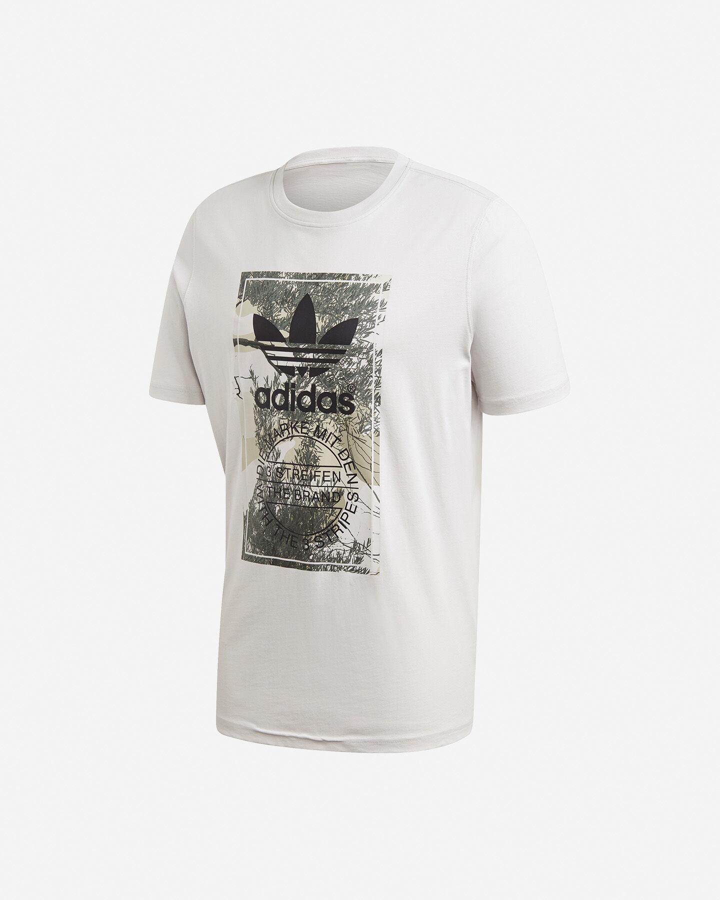 T-Shirt ADIDAS CAMO TONGUE M S5210682 scatto 0