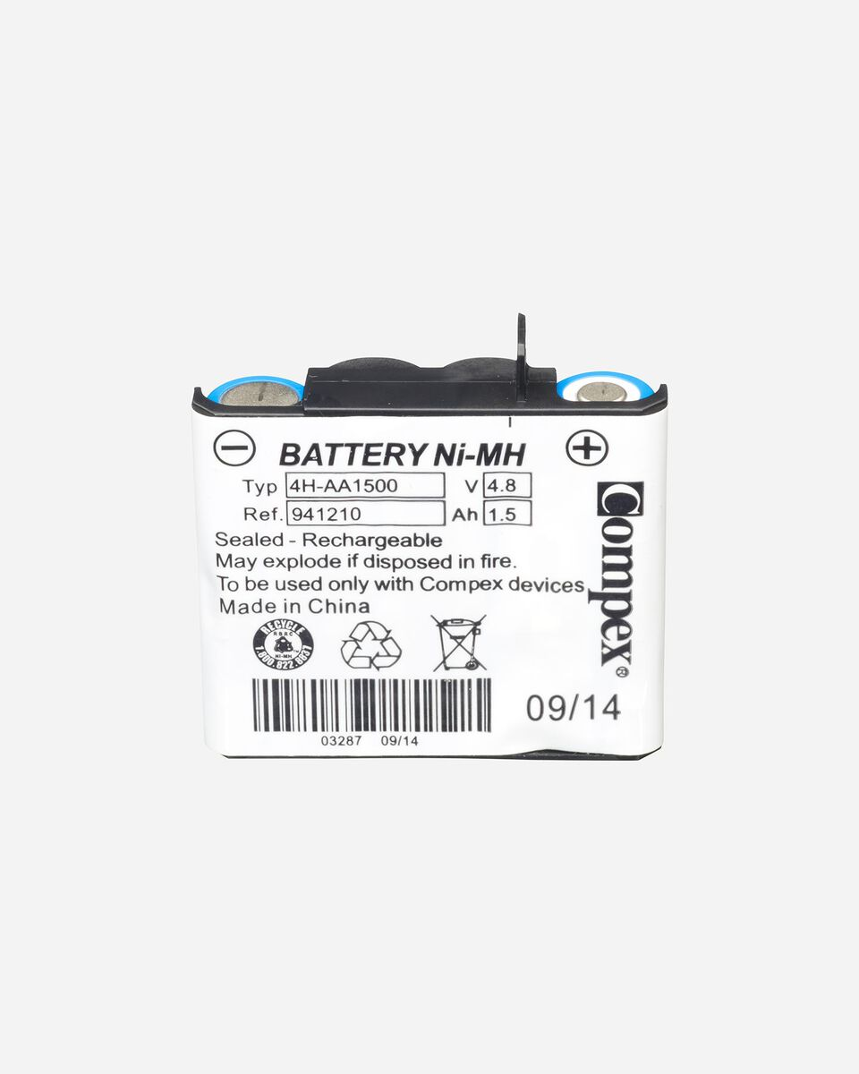 Accessorio elettrostimolatore COMPEX BATTERIA NEW S0644244|9999|UNI scatto 0