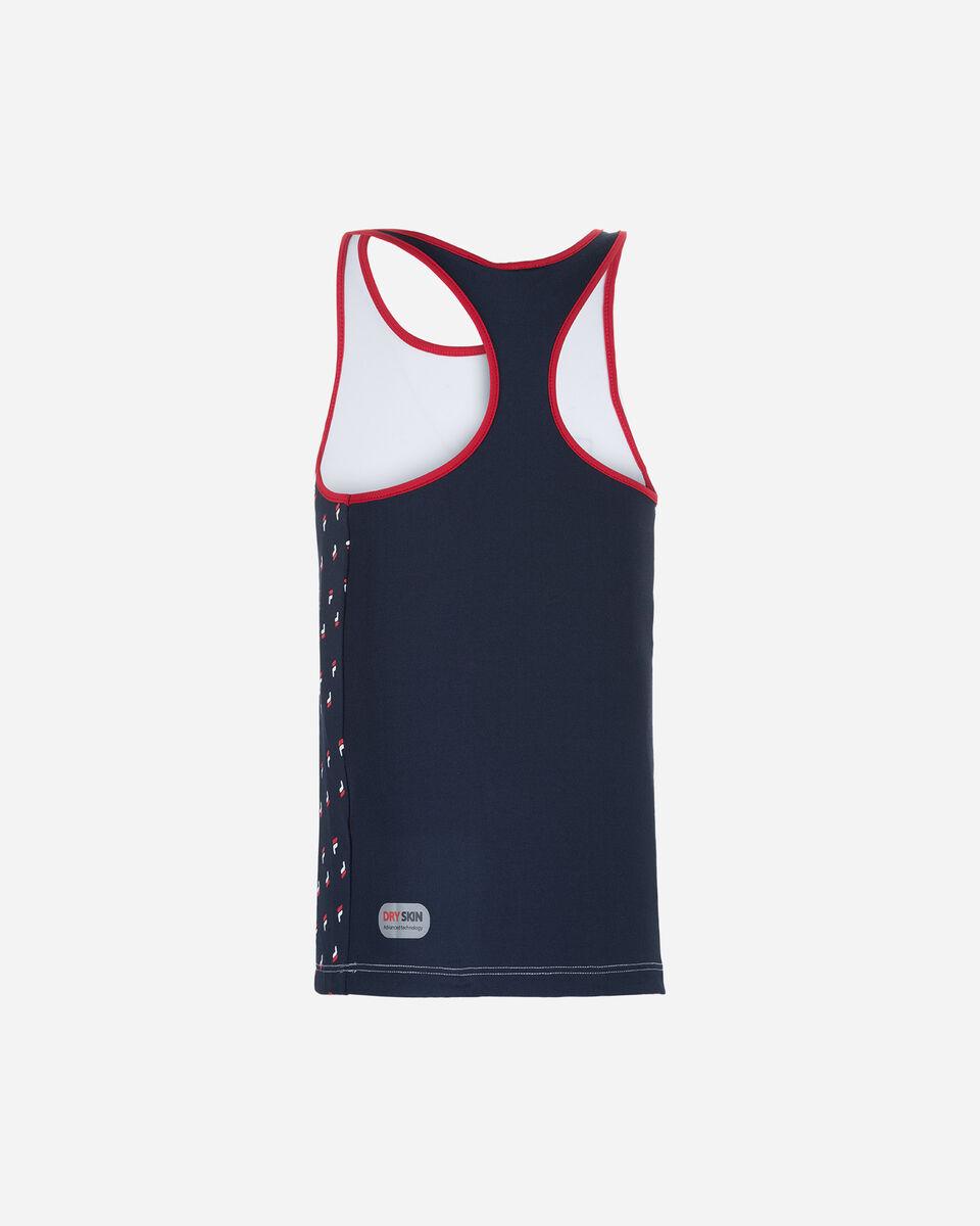 Maglia tennis FILA CLASSIC TENNIS JR S4075787 scatto 1