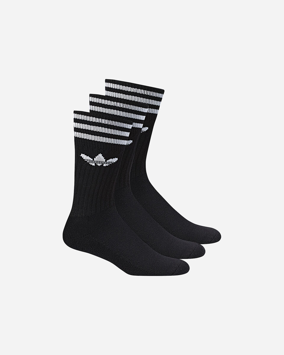 Calze ADIDAS SOLID CREW SOCK 3 PACK M S4008865 scatto 0