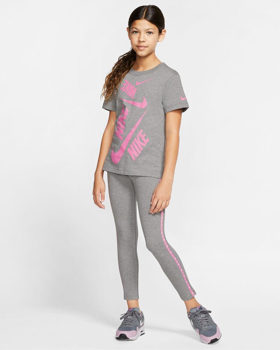 T-Shirt NIKE SWOOSH JR S5165231 scatto 4