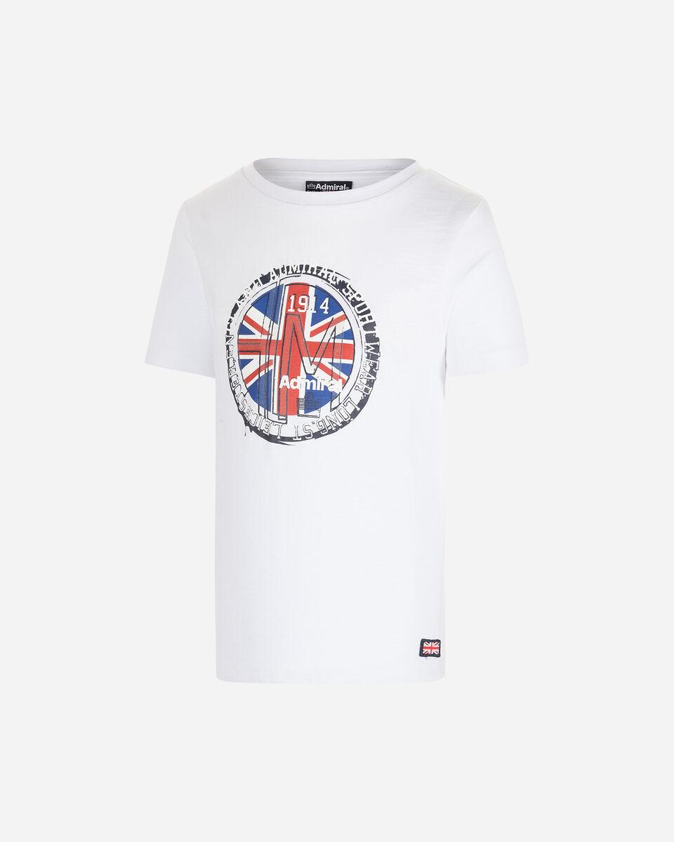 T-Shirt ADMIRAL BOLLO ENGLISH JR S4087658 scatto 0