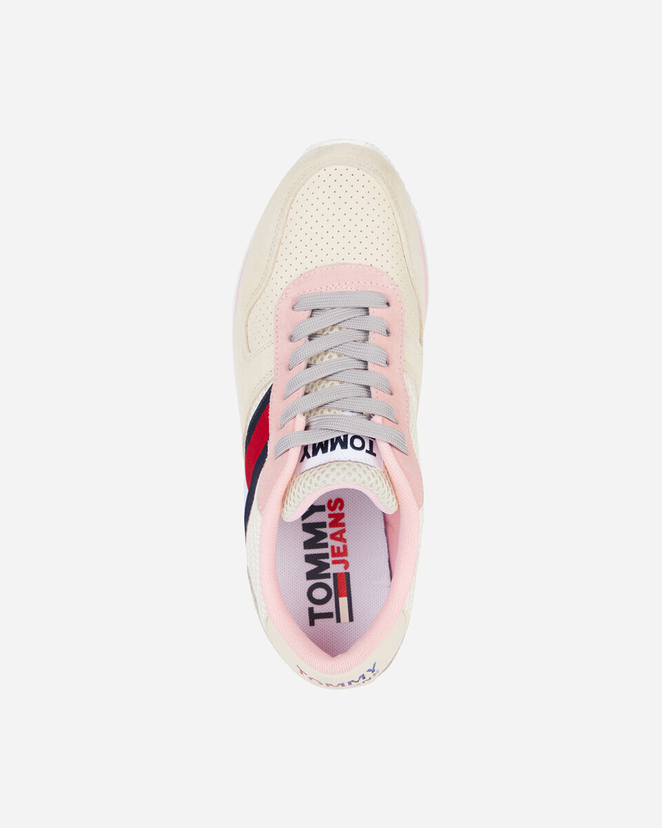Scarpe sneakers TOMMY HILFIGER FLATFORM W  S4088123 scatto 2