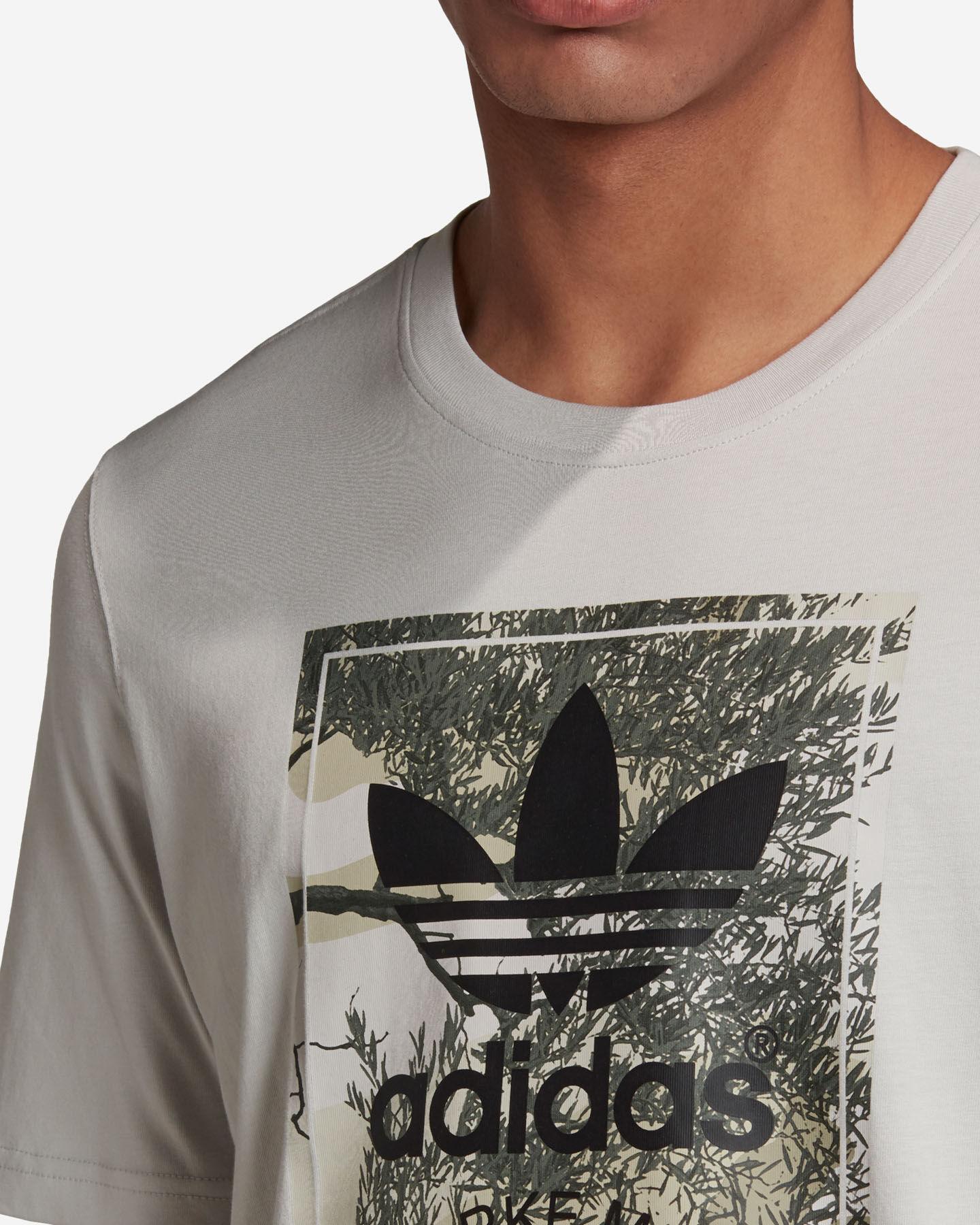 T-Shirt ADIDAS CAMO TONGUE M S5210682 scatto 5