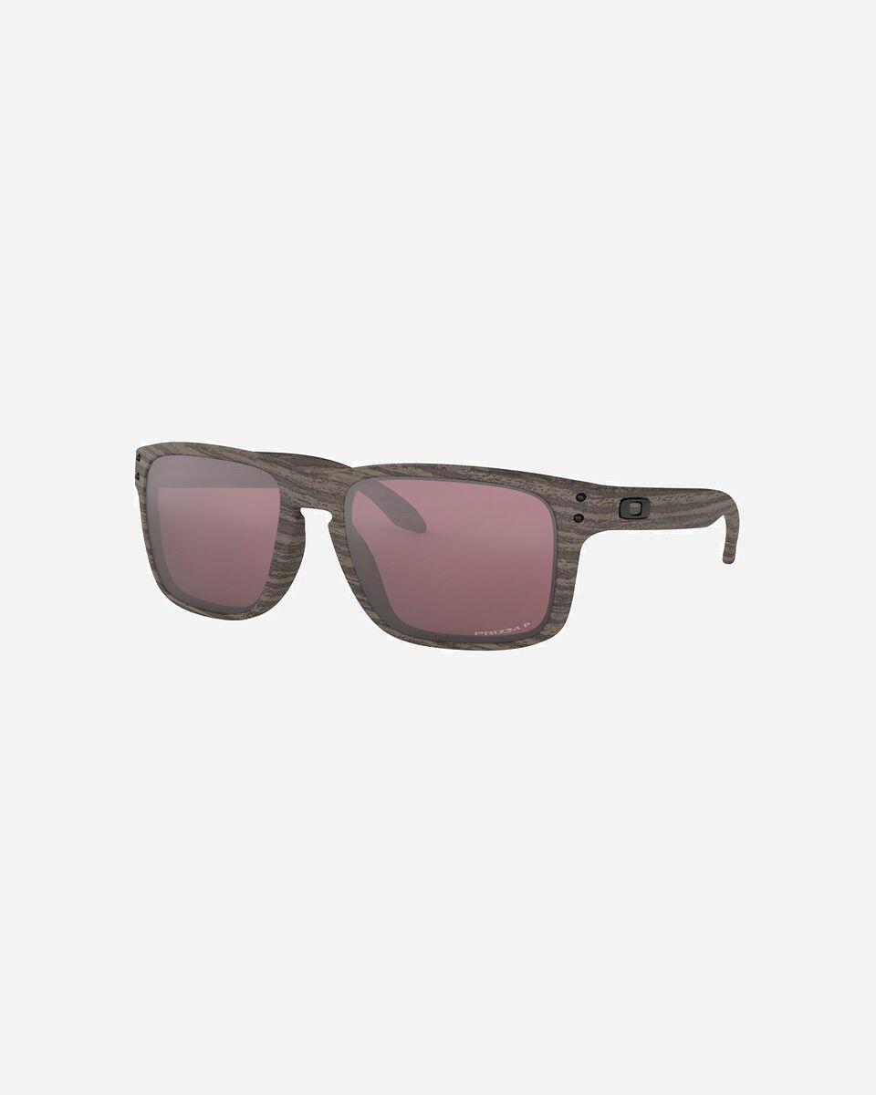 Occhiali OAKLEY HOLBROOK WOODGRAIN PRIZM S4002501|9999|UNI scatto 0