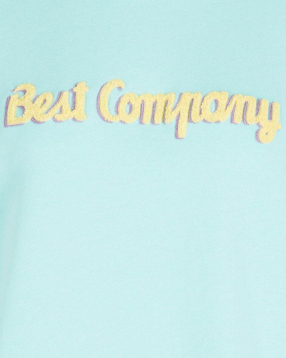 Felpa BEST COMPANY LOGO W S4086025 scatto 2