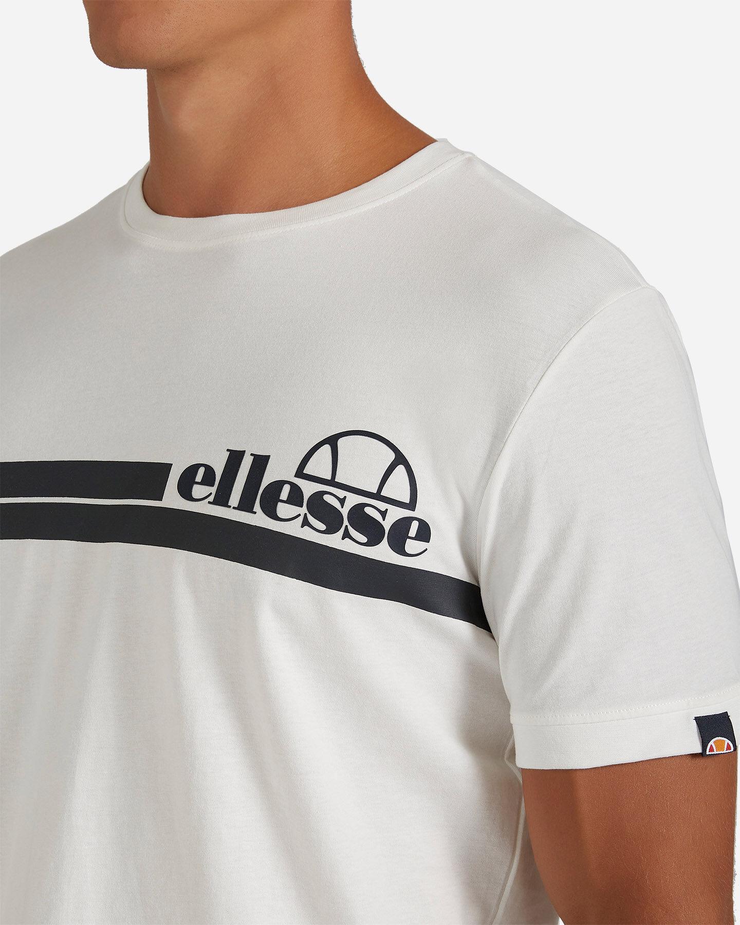 T-Shirt ELLESSE MC STRIPES M S4081222 scatto 4