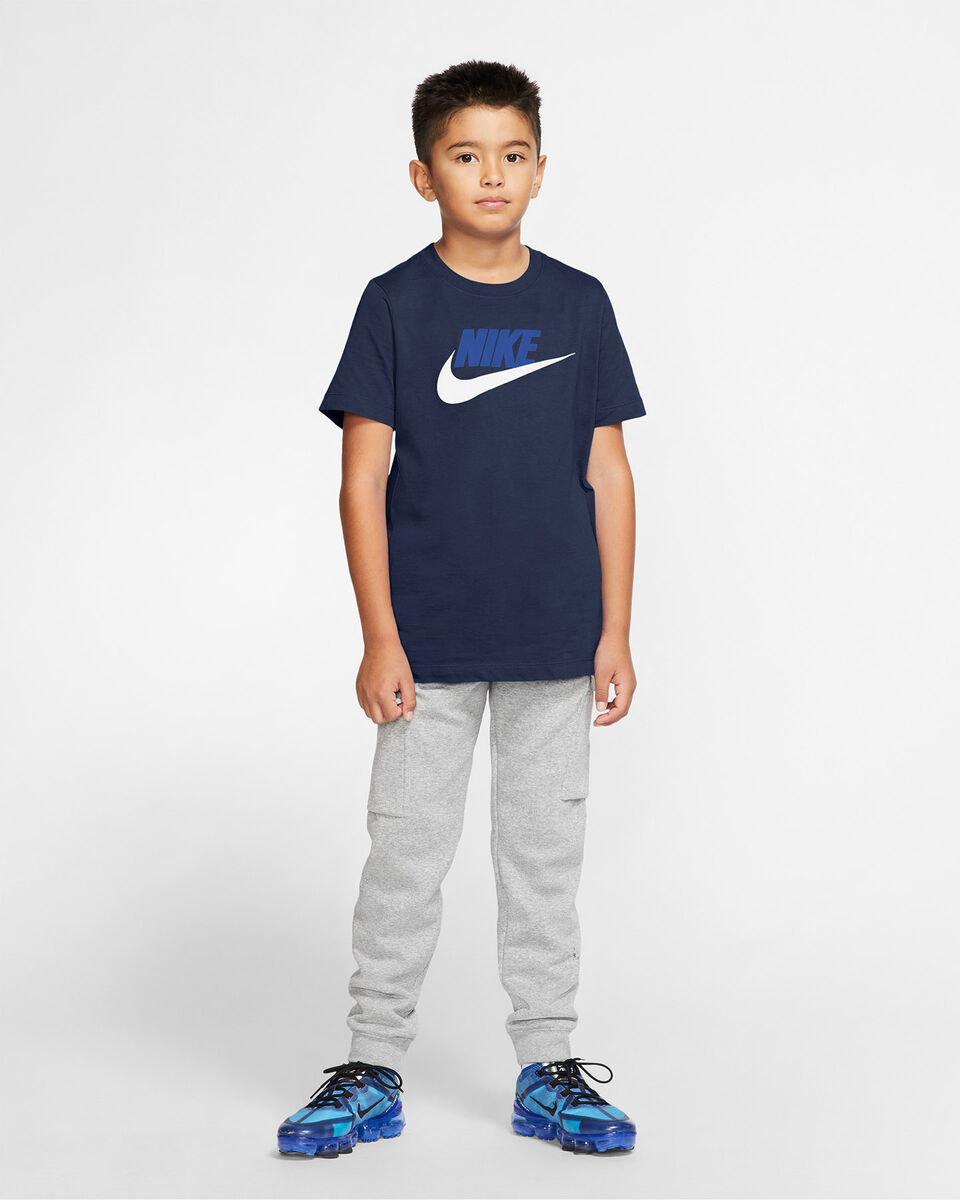 T-Shirt NIKE BIG LOGO JR S5162702 scatto 4