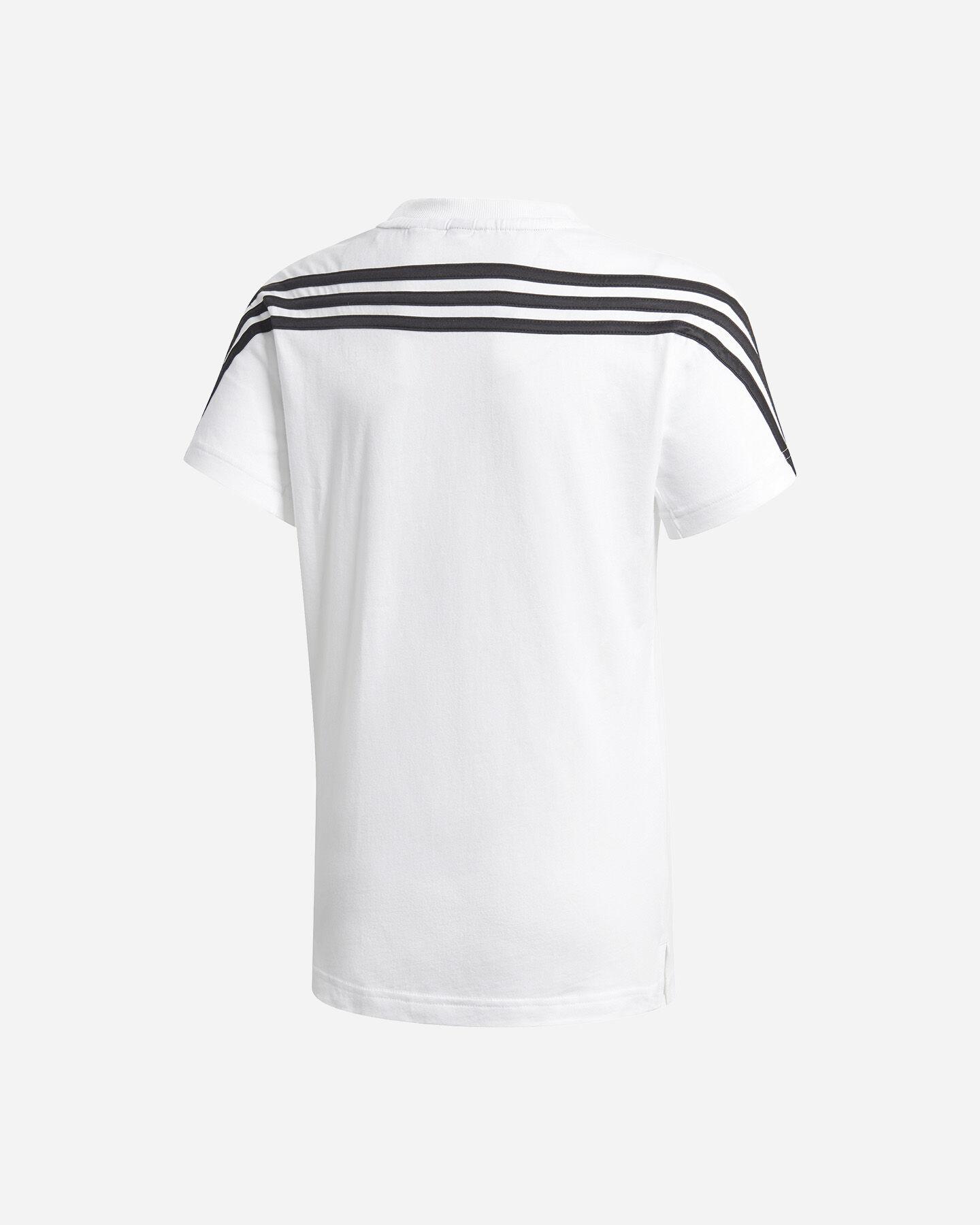T-Shirt ADIDAS 3 STRIPES JR S5211691 scatto 1