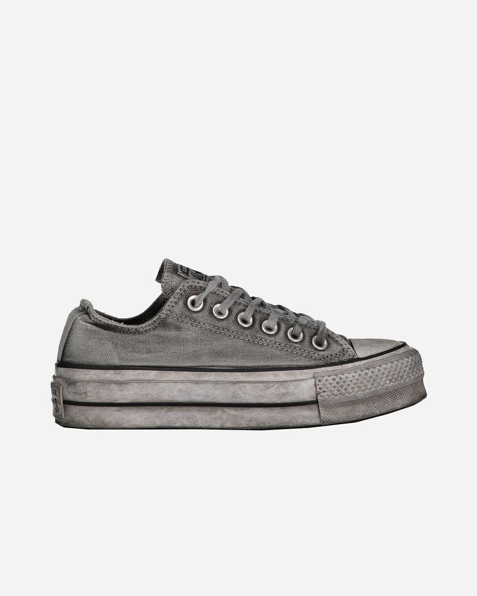Scarpe sneakers CONVERSE CHUCK TAYLOR ALL STAR OX LIFT W S4062602 scatto 0