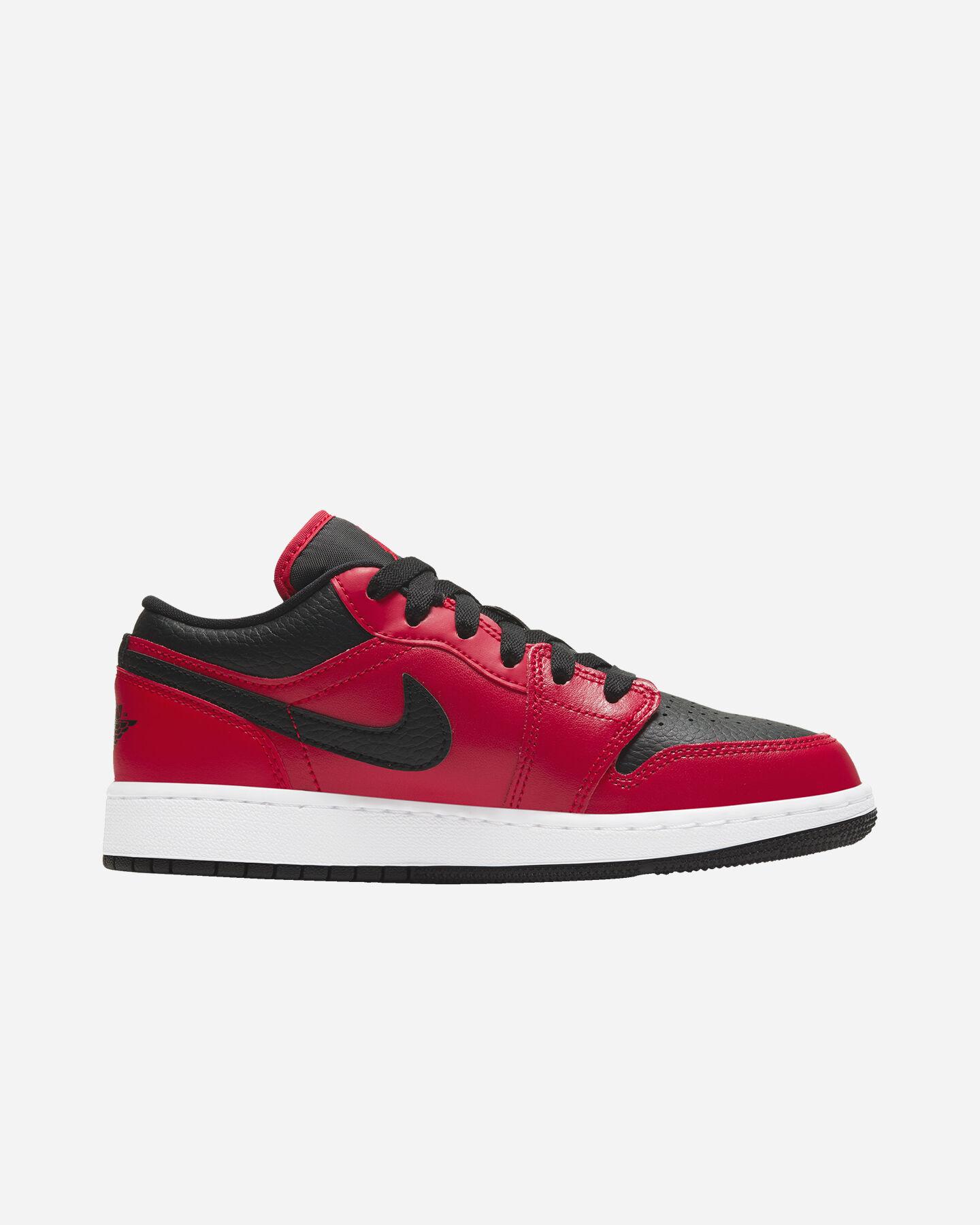Scarpe sneakers NIKE AIR JORDAN 1 LOW GS JR S5270339 scatto 0