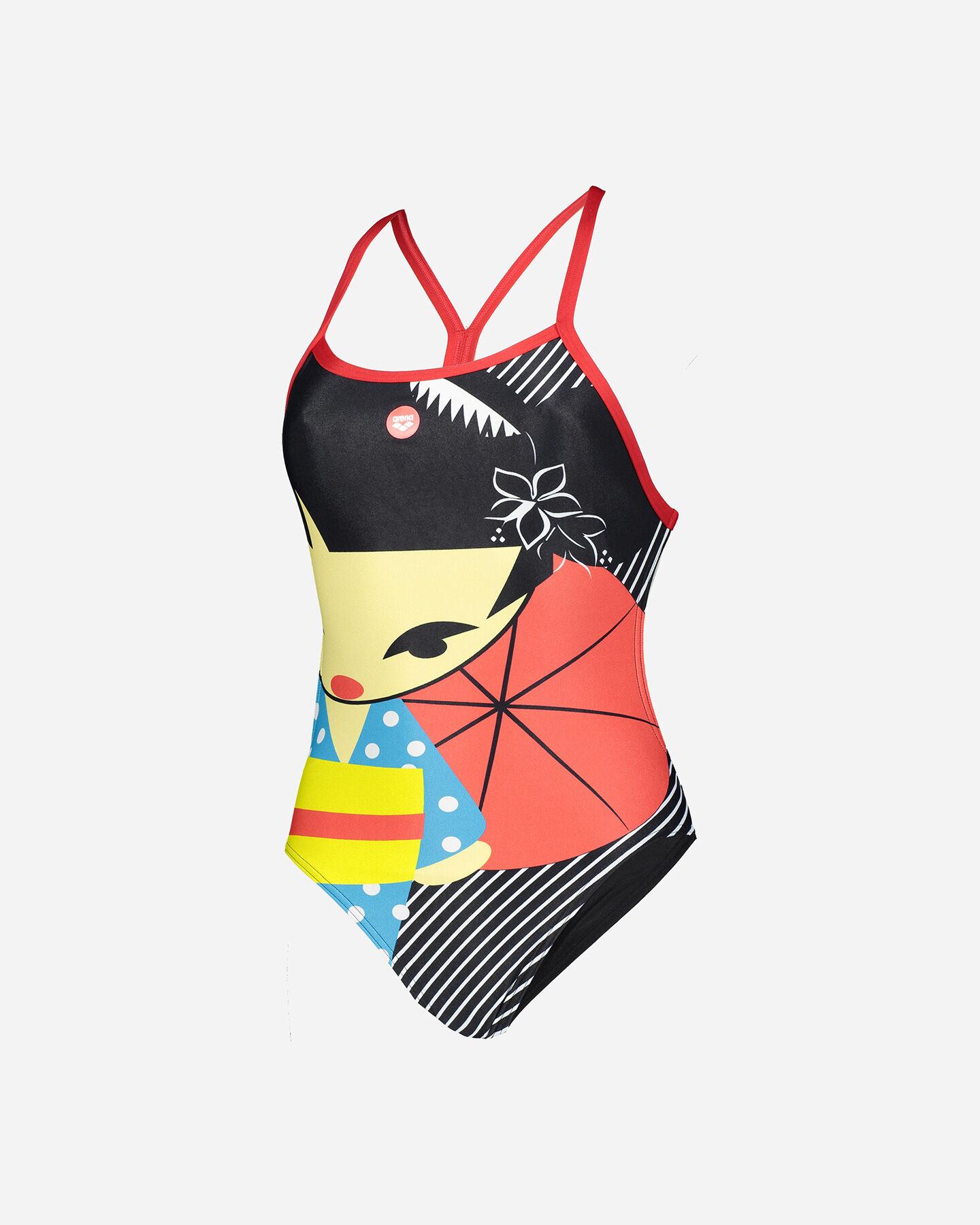 Costume piscina ARENA CRAZY KOKESHI W S5160291 scatto 0