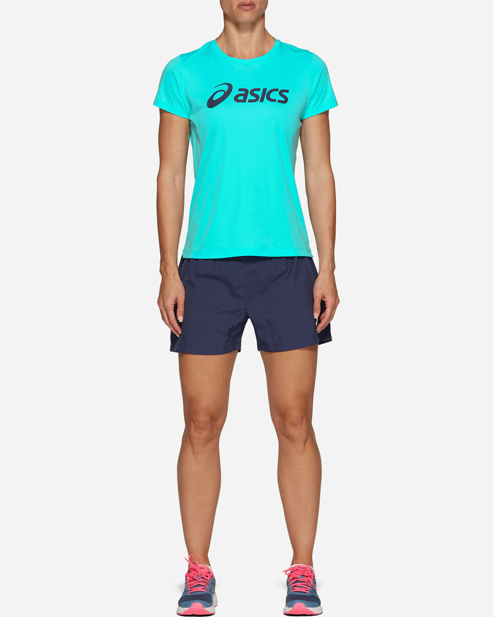 """Short running ASICS 4"""" SILVER W S5213392 scatto 5"""