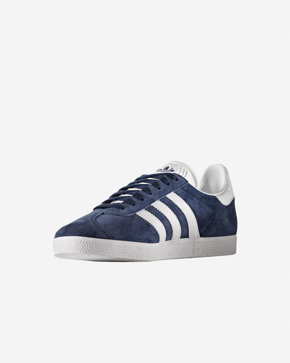 Scarpe sneakers ADIDAS GAZELLE M S4009336 scatto 3