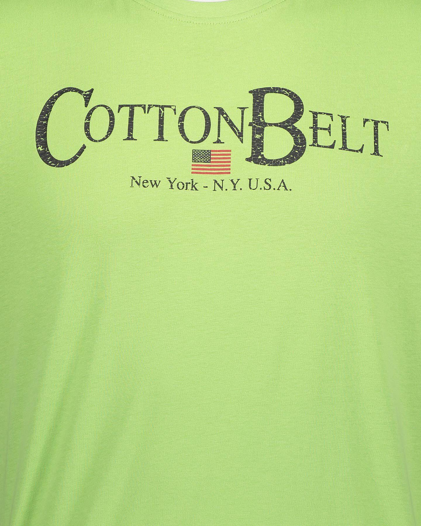 T-Shirt COTTON BELT LOGO M S5182776 scatto 2