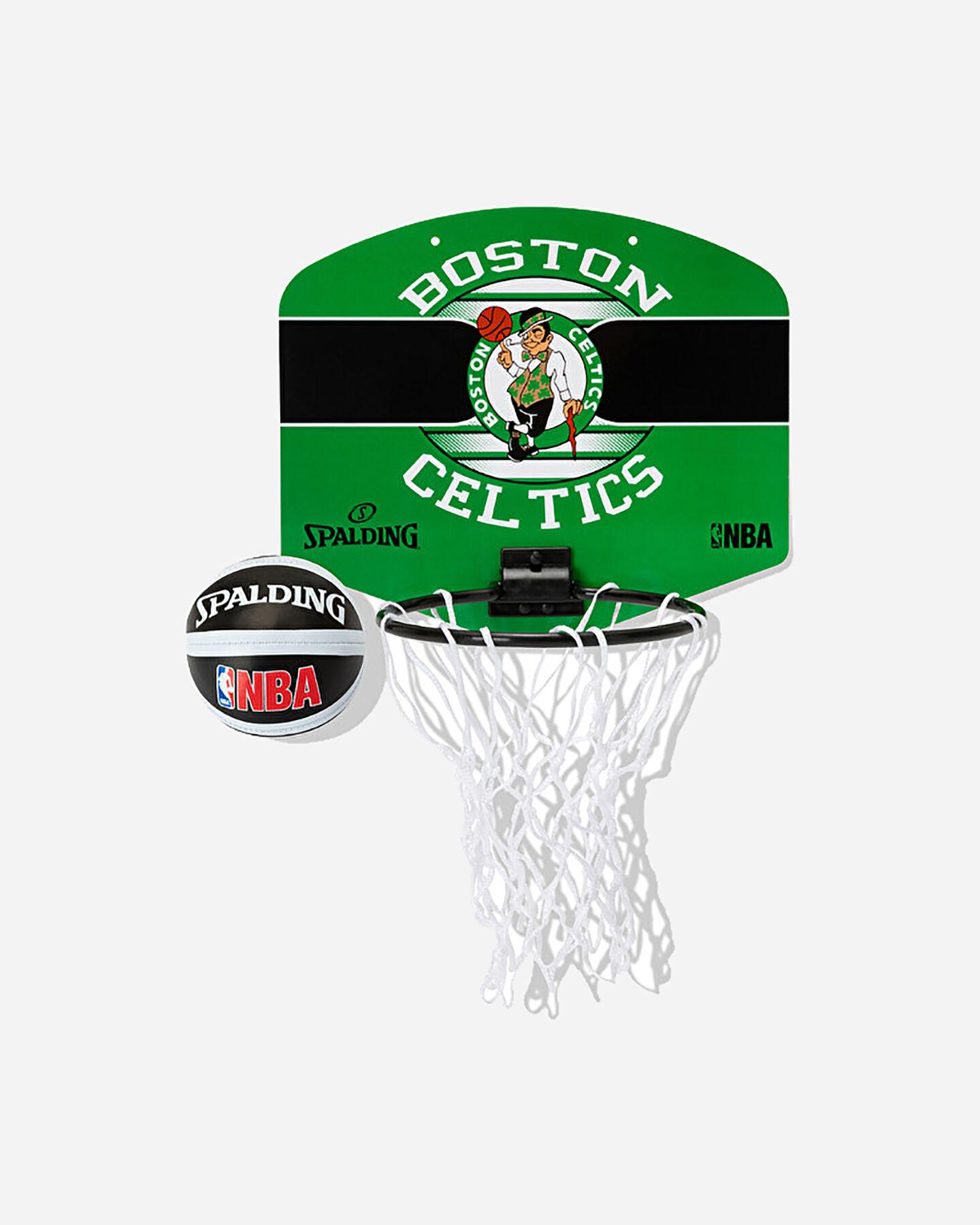 Canestro tabellone basket SPALDING BOSTON CELTICS JR S5238184|UNI|UNI scatto 2