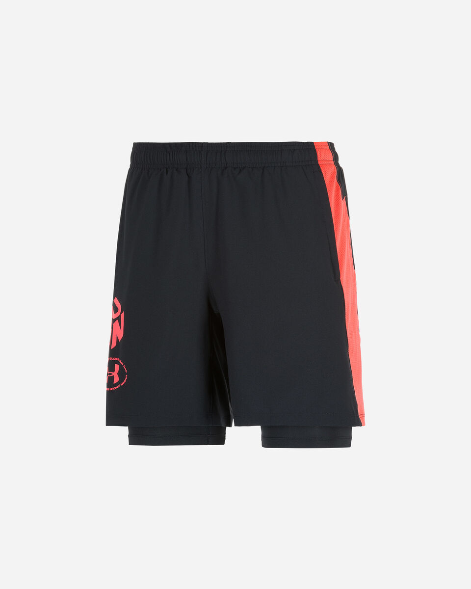 Short running UNDER ARMOUR LAUNCH SW 2IN1 GET OUT&RUN M S5173411 scatto 0