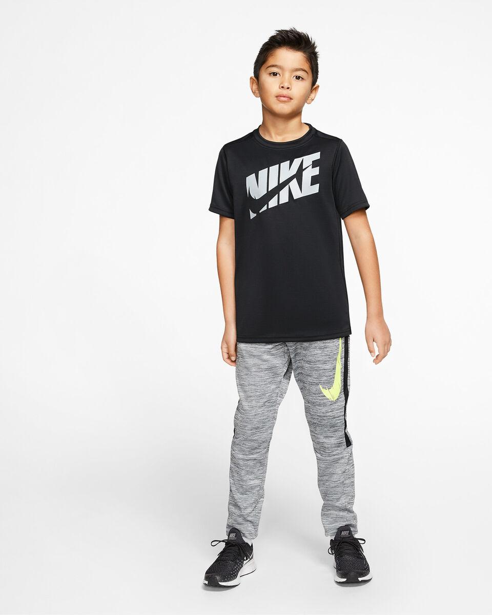 T-Shirt NIKE DRI-FIT SWOOSH JR S5164546 scatto 5