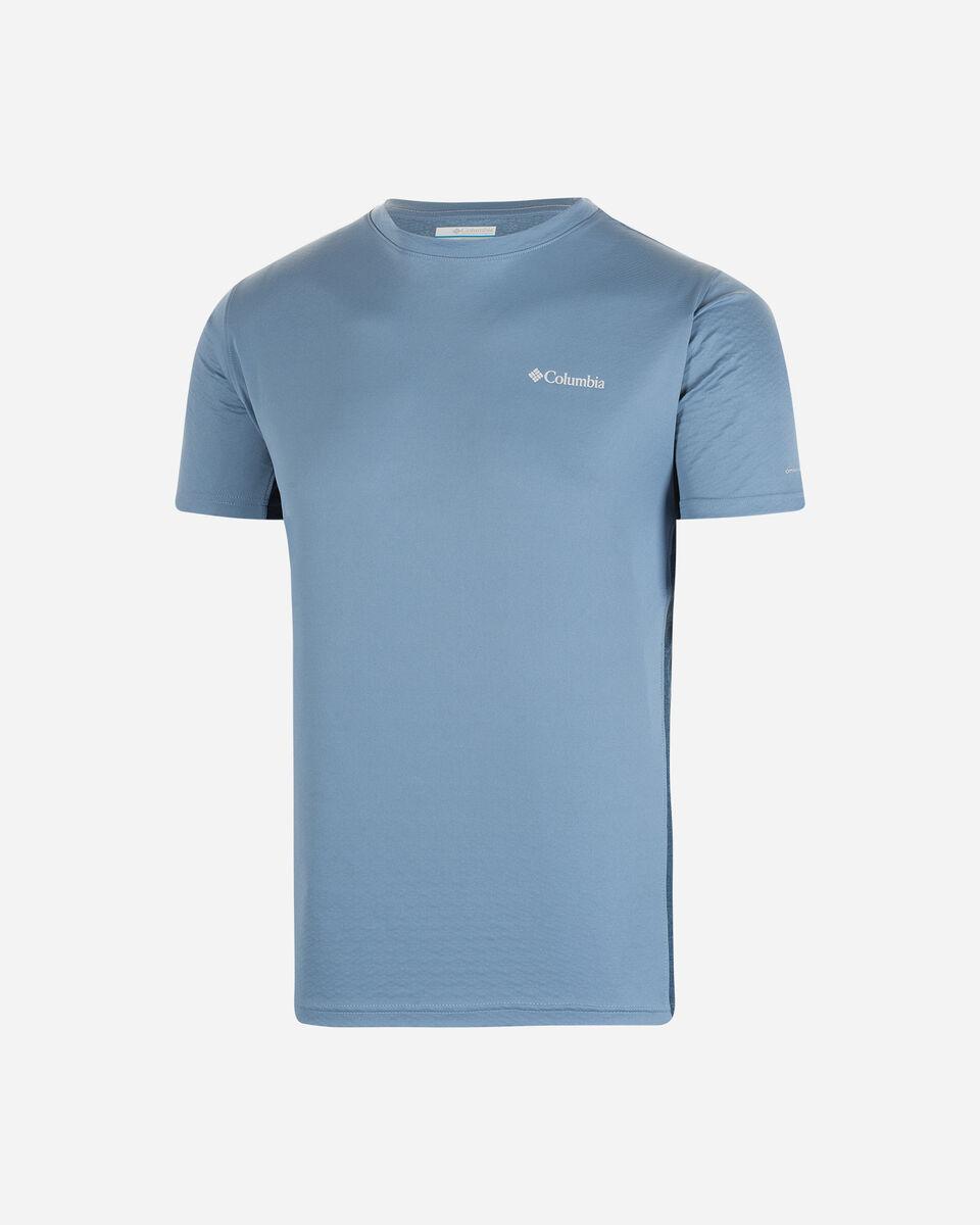 T-Shirt COLUMBIA ZERO ICE CIRRO COOL M S5291800 scatto 0