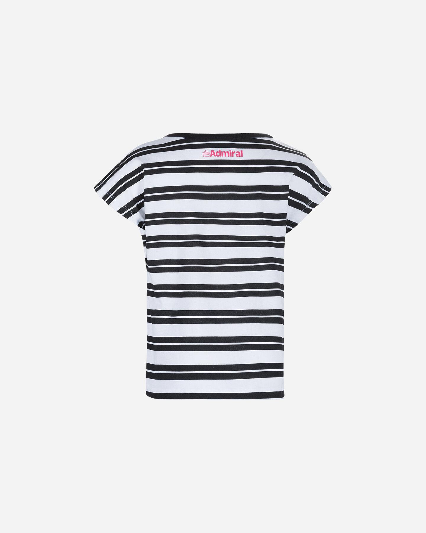 T-Shirt ADMIRAL TATTOO STRIPES JR S4075966 scatto 1