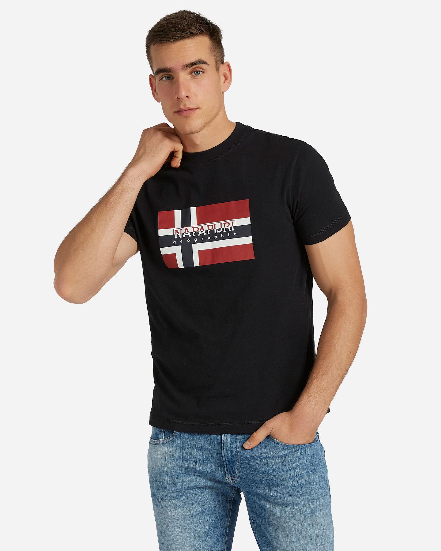 T-Shirt NAPAPIJRI SOVICO M S4077612 scatto 0