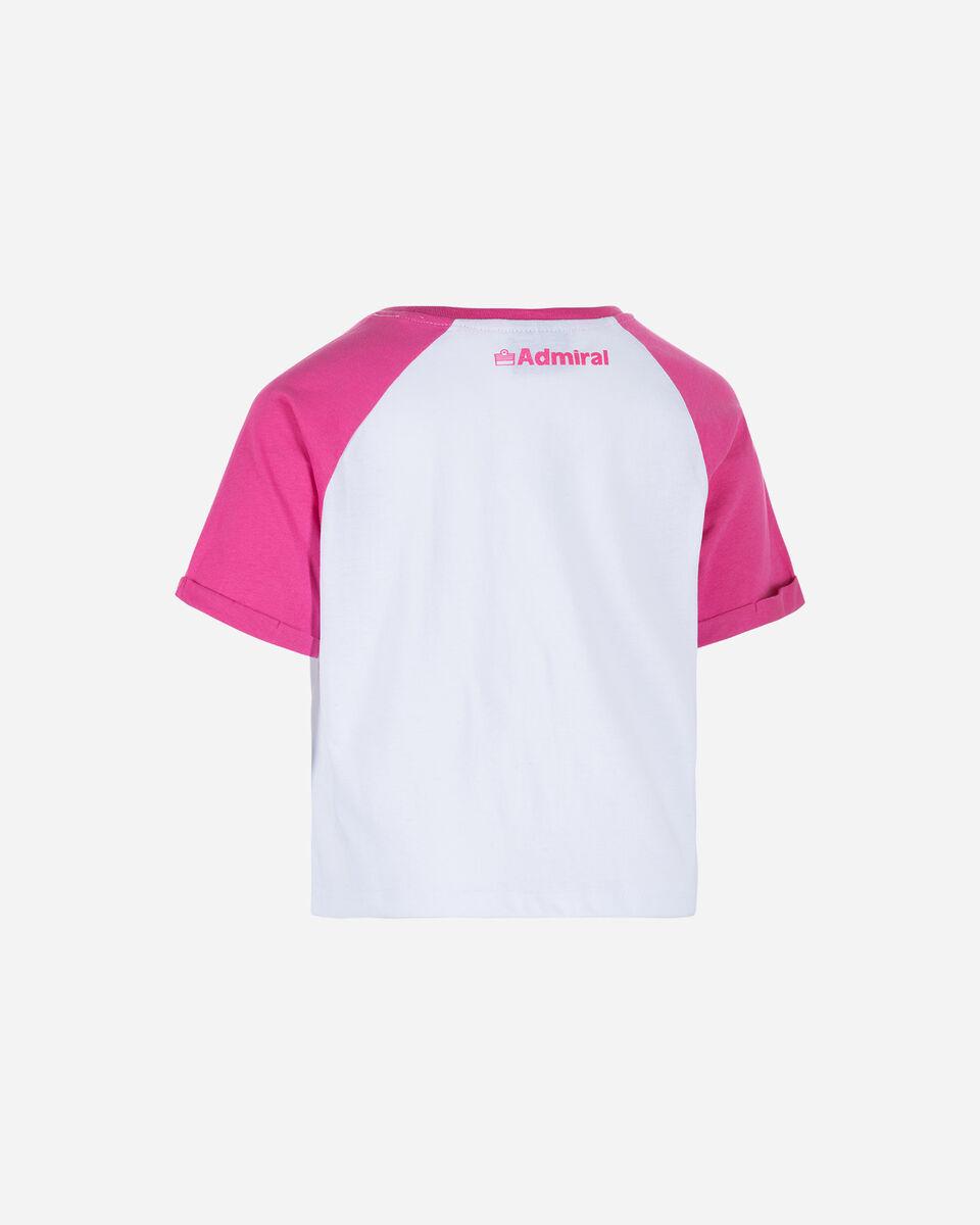 T-Shirt ADMIRAL CROP JR S4075521 scatto 1